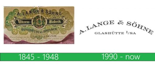 A. Lange & Söhne Logo historia