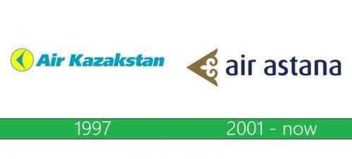 Air Astana Logo historia