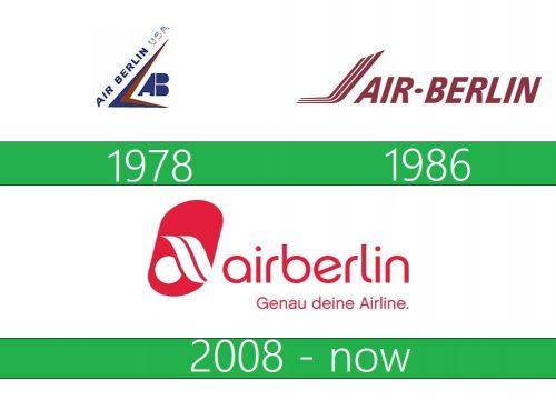 Air Berlin Logo historia