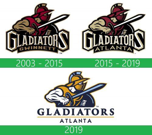 Atlanta Gladiators Logo historia
