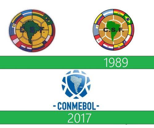 Conmebol Logo historia