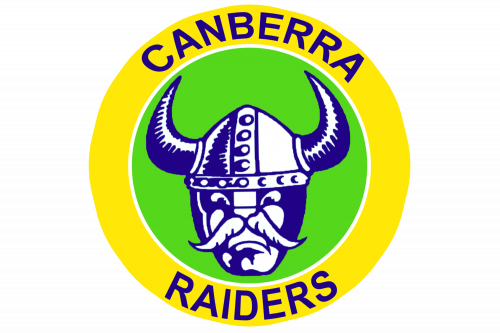 Canberra Raiders Logo 1981