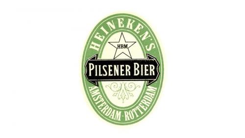 Heineken logo 1884