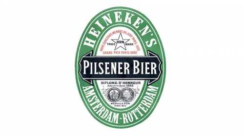 Heineken logo 1889