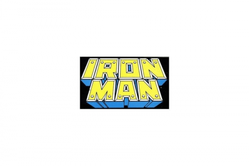 Iron Man Logo 1987