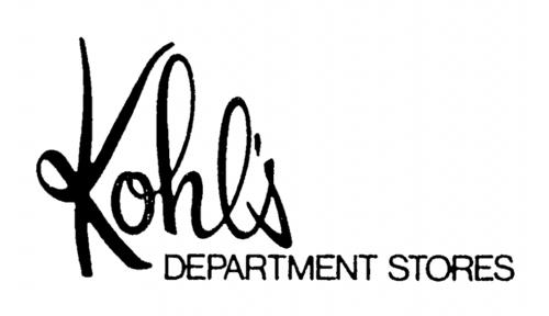 Kohls Logo 1979