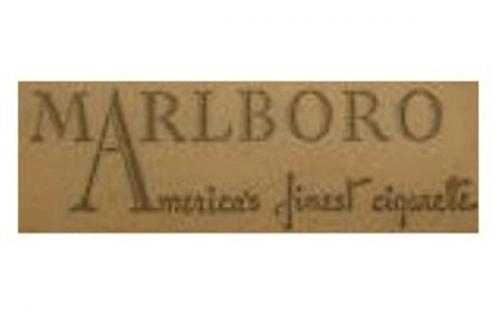 Marlboro Logo 1931