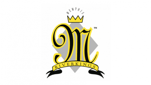 Mississippi RiverKings Logo 1992