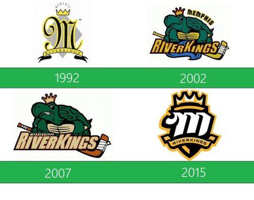 Mississippi RiverKings Logo historia