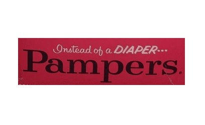 Pampers Logo 1961