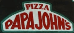 Papa Johns Logo 1984