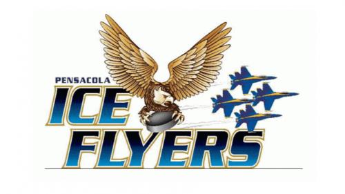 Pensacola Ice Flyers Logo  2009