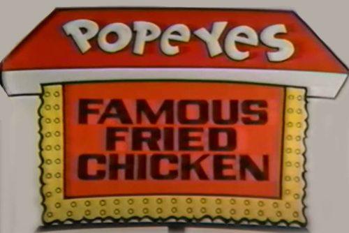 Popeyes Logo 1972