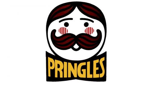 Pringles logo 1986