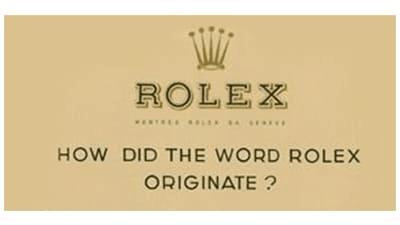Rolex Logo 1905