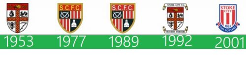 Stoke City logo historia