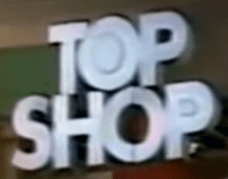 Topshop Logo 1900s