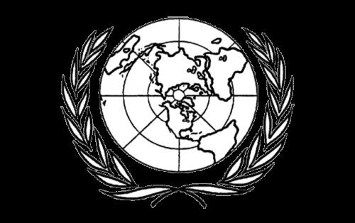 United Nations Logo 1945