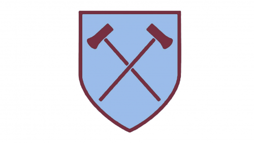 West Ham United Logo 1950