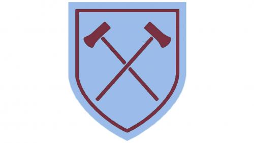West Ham United Logo 1958