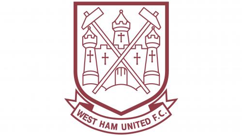 West Ham United Logo 1968