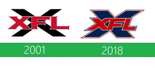 XFL Logo historia