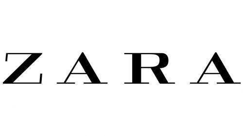 Zara logо 2008