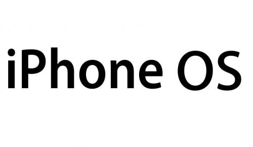 iOS logo 2007