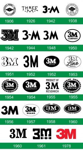 storia del logo 3M