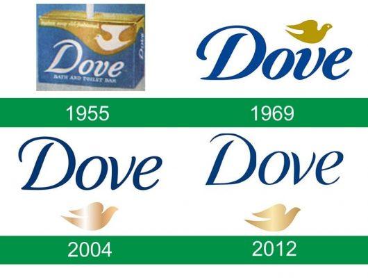 storia del logo Dove