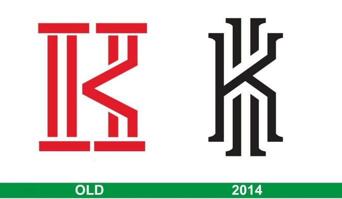 storia del logo Kyrie Irving