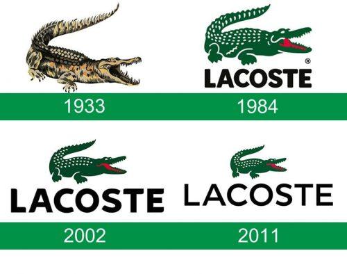storia del logo Lacoste