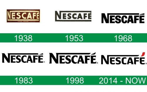 storia del logo Nescafe