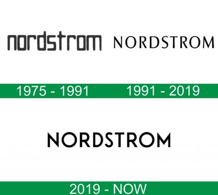 storia del logo Nordstrom
