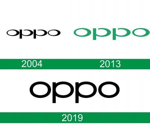 storia del logo Oppo