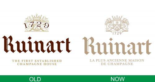 storia del logo Ruinart