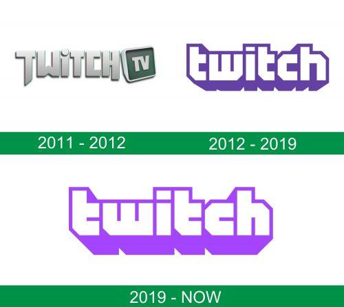 storia del logo Twitch