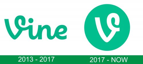 storia del logo Vine