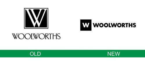 storia del logo Woolworths