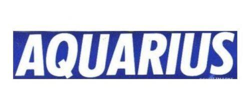 Aquarius logo 1983