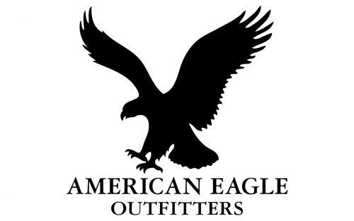 American Eagle logo 1985