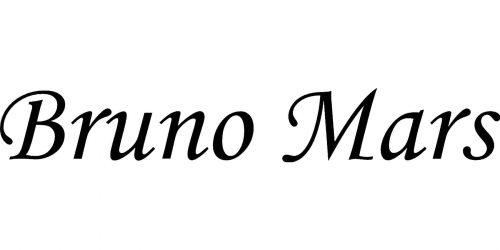 Bruno Mars logo