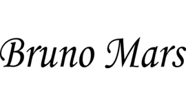 Bruno Mars logo tumb