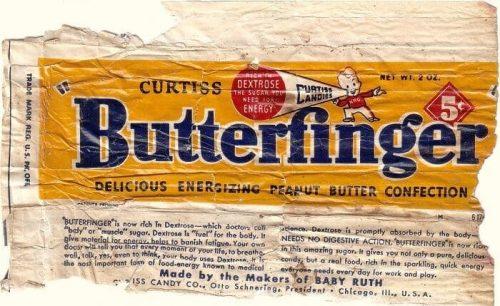 Butterfinger Logo 1932