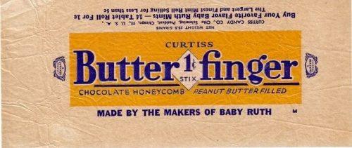 Butterfinger Logo 1934