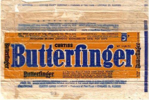 Butterfinger Logo 1950