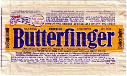 Butterfinger Logo 1952