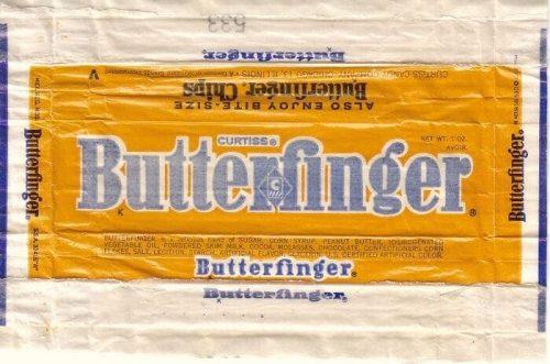 Butterfinger Logo 1964