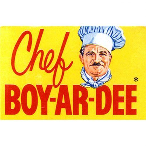 Chef Boyardee Logo 1938