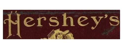 Hershey Logo 1900